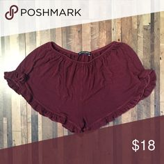 Maroon Vodi Shorts Worn but still in great condition. Cotton version. Cheaper on…