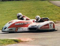 Terry HASLAM - Assen Sidecar - 1984.  Terry Haslam was from Langley Mill, Nottinghamshire. Terry began to race after losing his road. He started racing a BSA sidecar outfit in 1976 before buying a Seymaz outfit in 1983. Terry and his passenger John Gainey crashed in the first practice session of the final round of the European Sidecar Championship at Assen, Netherlands on Friday 28 September 1984.  Terry Haslam died instantly, passenger John Gainey escaped with internal injuries.