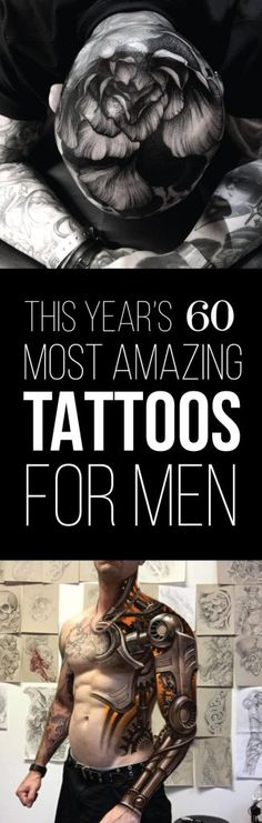 This Year's 60 Most Amazing Tattoo Designs for Men | TattooBlend