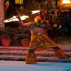 Fire & Hula Show at Springmaid Beach Resort http://www.springmaidbeach.com/hawaiian-luau/