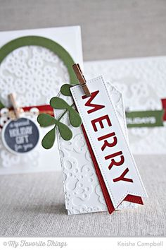 MFT's New Product Launch Christmas Crafts For Gifts, Christmas Gift Tags, All Things Christmas, Craft Gifts, Inspiration Cards, Christmas Inspiration, Card Tags, Gift Cards, Handmade Gift Tags