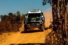 Stéphane Peterhansel and the MINI ALL4 Racing