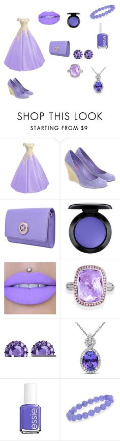 """""""Princess Outfit"""" by magicalpowers on Polyvore featuring Michael Kors, Metrocity, MAC Cosmetics, Bling Jewelry, Color My Life, Miadora, Essie and Ross-Simons"""