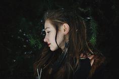 Titaniumquarz Earrings- Suited For A Shieldmaiden; www.etsy.com/de/shop/WildlingJewellery