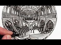 How to Draw Perspective: 5-Point Perspective Narrated - YouTube
