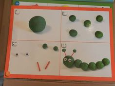 Klei rups Hungry Caterpillar Activities, Very Hungry Caterpillar, Preschool Learning, Teaching Kids, Play Doh Party, Creative Curriculum, Plasticine, Eric Carle, Montessori