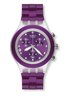 swatch blueberry watch