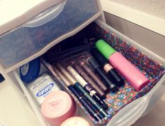gave my plastic drawer a makeover. even my organizer needs to be organized.