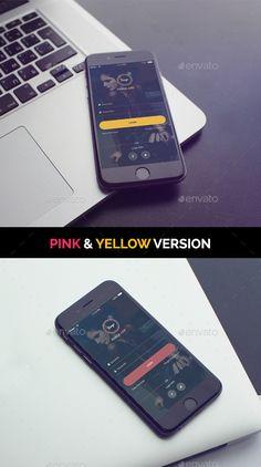 Farge App Login Template PSD #design #ui Download: http://graphicriver.net/item/farge-app-login-psd/11168076?ref=ksioks