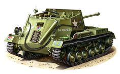 Self-propelled gun 'Archer' armed with a cannon 17pdr. developed by Vickers between 1942-1943. Produced 665 units
