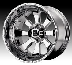 XD Series Wheels (Used Armour Chrome Rims)