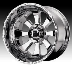 XD Series Wheels  (Used Armour Chrome Rims)