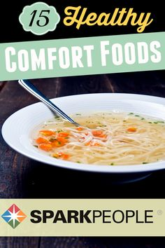 15 Comfort Foods That are Good for You. Tis the season for comfort food--which of these recipes will you make? | via @SparkPeople