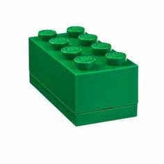 Mini Box 8 Dark Green 2 Pack