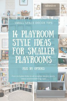 Seamlined Living Do you need help finding inspiration for your small playroom? Here I've gathered ov