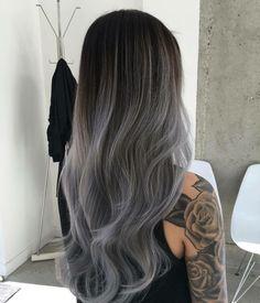 Ombre Idee in elegantem Grau