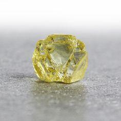 Rough Yellow Diamond