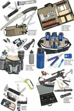 Camping gear/Ultimate survival pack