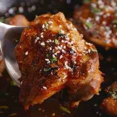 Honey Garlic #Chicken