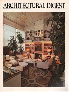 Architectural Digest May-June 1976