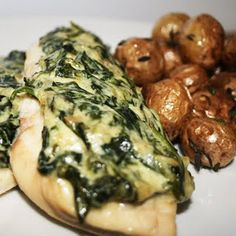 Spinach Cream Cheese Chicken. This was a huge hit at my house! So good!