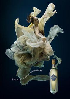 Zena Holloway for Rosemount Estate Wine, Advertisement for Pinot Grigio, 2009