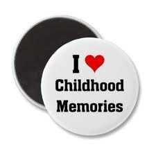 my chidhood memoreis Childhood memory go over to our grandmothers house for lunch, she lived on the other side of my house right next door, i will never forget going over their amd.