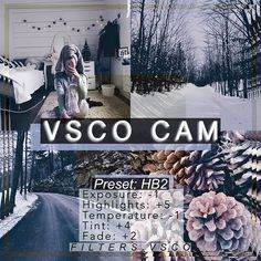Instagram photo by filters.vsco - I originally made this filter for a winter or Christmas theme but when I tried it on other pics, I realized it looks good on everything!! If you want a theme with pictures that are cool and blue toned then this is the filter for you! -- Thank you @barrenmadeleine (top left), @_calebstelter (top right & bottom left), and @Jasmxnechow (bottom right) for the pics!