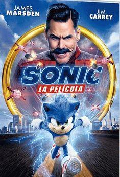 791.43 SON MEP 1517 DVD Sonic The Hedgehog, Hedgehog Movie, Jim Carrey, Ian Mckellen, Michael Sheen, Elisabeth Moss, Jennifer Hudson, Emma Thompson, Jason Derulo