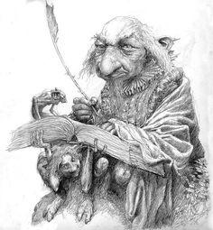 Elf Book keeper