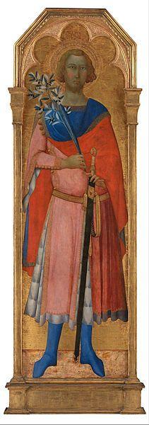 Master of Palazzo Venezia Madonna - St Victor of Siena