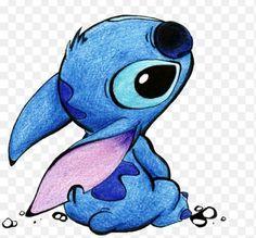 Image de stitch, disney, and blue