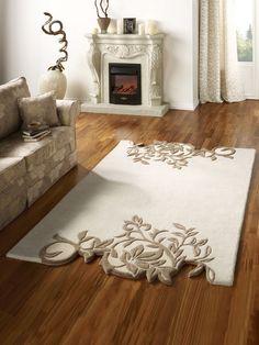 Hochflor-Teppich beige - Teppiche im Wohnen-Shop auf heine.de