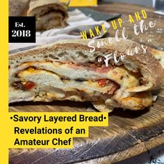 Wake up and Smell the Flours: Part 1 - Savory Layered Bread Oven Dishes, Side Dishes, Instant Yeast, Vegetarian Options, Quick Snacks, Main Meals, Bread Baking, Cooking Time, New Recipes