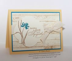 Love & Sympathy for the Pals by MaryEB - Cards and Paper Crafts at Splitcoaststampers