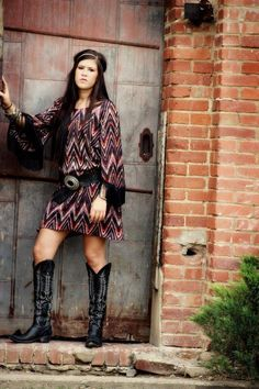 Love this Ivy Jane paired with Old Gringo boots ! I'll be rockin this look at the Stock Show ;)    http://www.buckfergesonoriginals.com/
