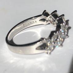 "VINTAGE AMARA on Instagram: ""#ELANZA Sterling Silver Sparkly Ring 💎"" Designer Jewellery, Vintage Designs, Engagement Rings, Sterling Silver, Stuff To Buy, Etsy, Jewelry, Instagram, Enagement Rings"