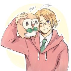 Rowlet and Canada <3