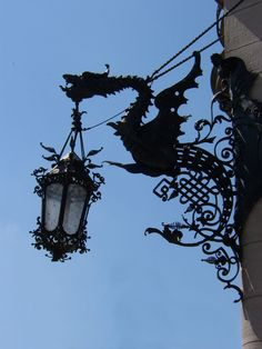 Svitavy Library Lantern in Czech Republic