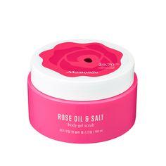 Rose Oil and Salt Gel Scrub