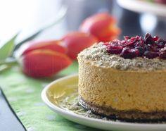 Pumpkin cake - raw vegan