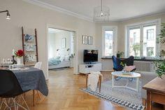 Precioso piso nórdico lleno de ideas deco