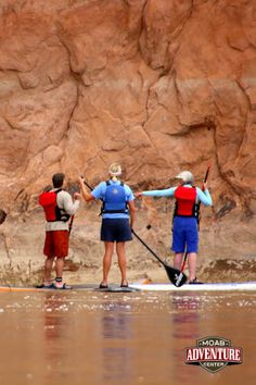 Along the trip your guides will give instruction and insight into the fascinating and beautiful geology surrounding the Colorado River! #Utah #Moab #river #SUP