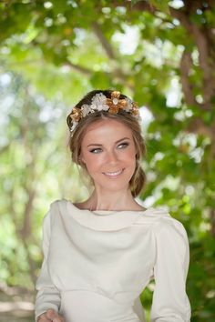 Bridal headdresses by Envol Complementos