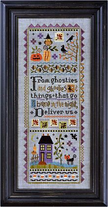 Mystery Sampler part 1 and 2 Kit from Lizzie Kate Counted Cross Stitch Designs