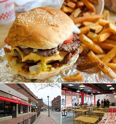 Five Guys Burgers & Fries.  Drove 45 min to try these, worth it.