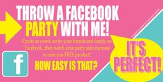 { Host a Facebook Party }  Hi All!!! Who wants to host a party that doesn't require you to clean your house, make food, run to the store for last minute beverages and you can just sit back and relax while your friends earn you free Origami Owl Jewelry FOR FREE???? Host a Facebook Jewelry Bar with me from July 17 - 31.  Message me for details!!!!!! www.facebook.com/leanne25074