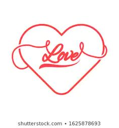 Find Heart Vector Illustration Love Word Modern stock images in HD and millions of other royalty-free stock photos, illustrations and vectors in the Shutterstock collection. Love Heart Illustration, Kawaii Illustration, Graphic Design Illustration, Heart Glasses, Love Words, Love Letters, How To Draw Hands, Royalty Free Stock Photos, Romantic