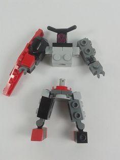 Robot Lego, Lego Bots, Lego Duplo, Lego Mechs, Lego Bionicle, Legos, Easy Lego Creations, Lego Custom Minifigures, Cuadros Star Wars