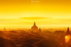 Bagan Sunrise by Tawan Chaisom